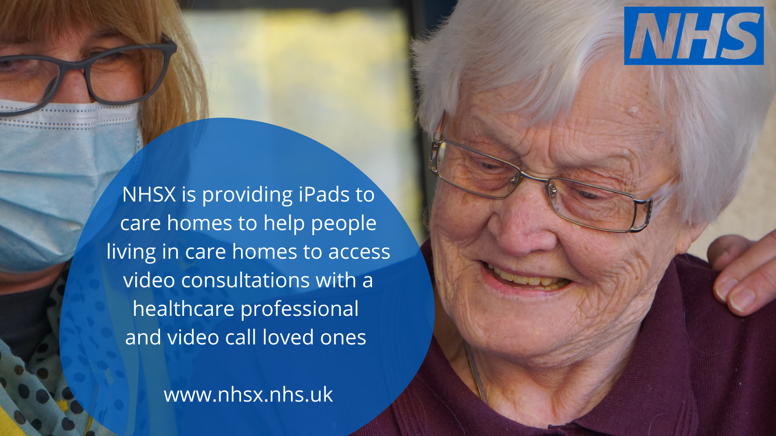 NHSX initiative offers free iPad for care homes
