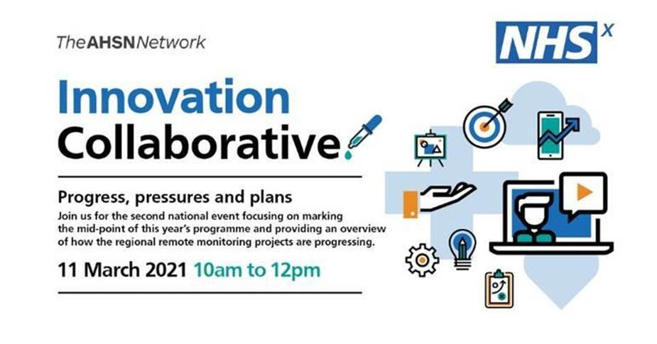 Invitation to NHSX Innovation Collaborative national event