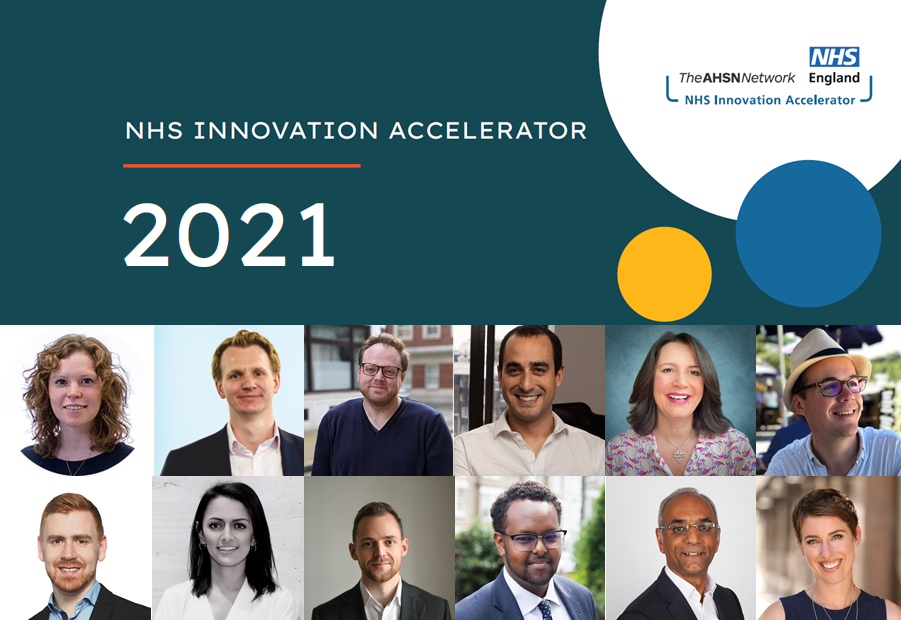 NHS Innovation Accelerator 2021 Launch
