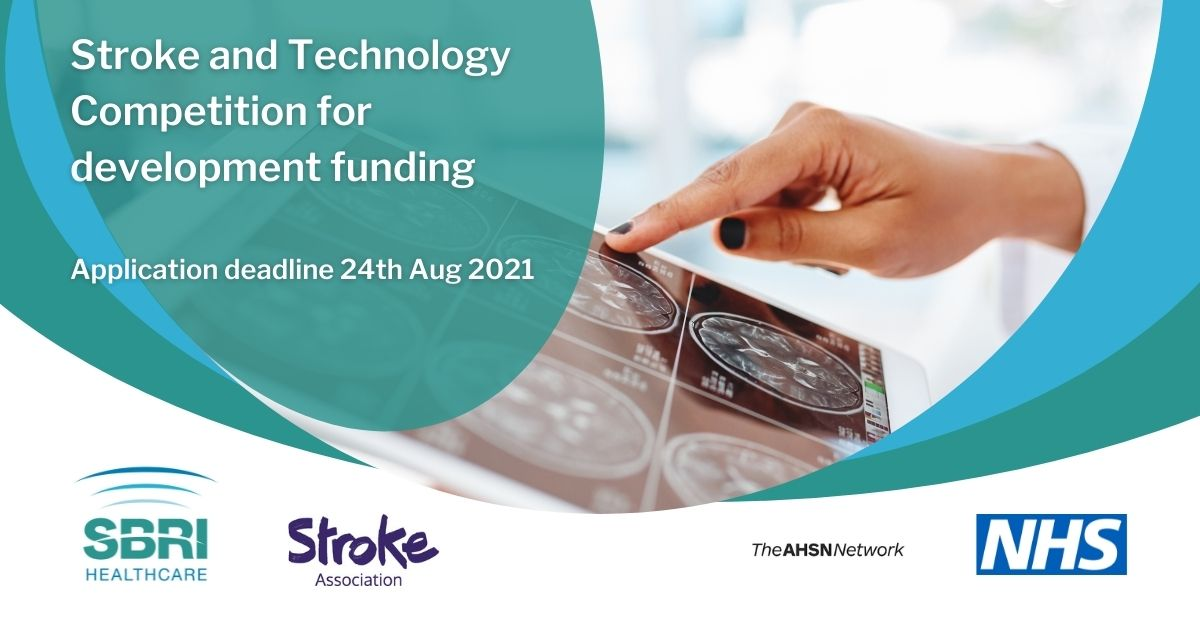 SBRI Healthcare launch competitions: 'Stroke & Technology' and 'Delivering a Net Zero NHS'